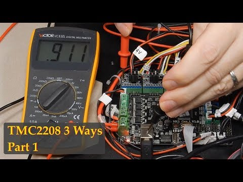 TMC2208 3 Ways - Part 1