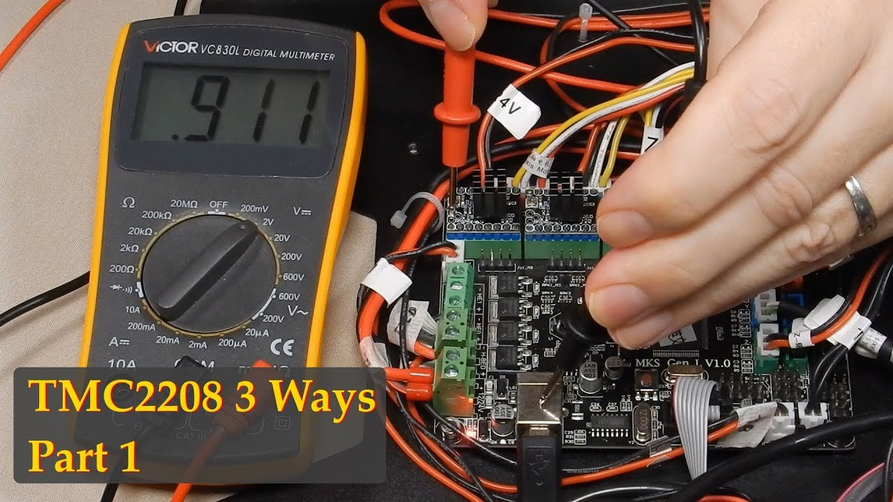 TMC2208 3 Ways - Part 1