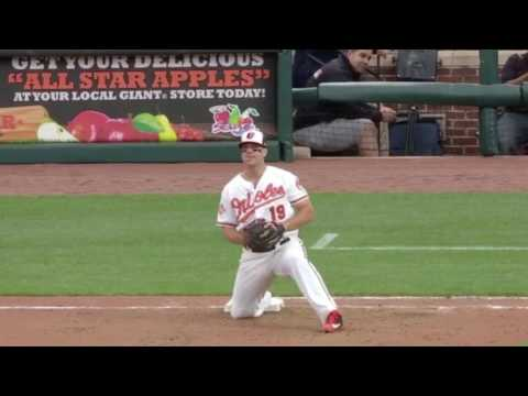 How to Pick a Ball Playing First Base