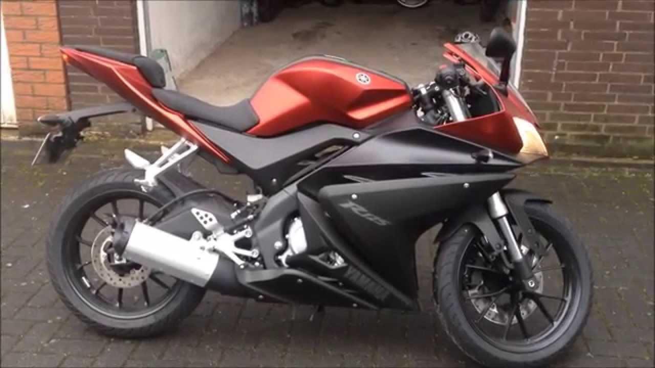 Yamaha YZF R125 2014 15 First Looks