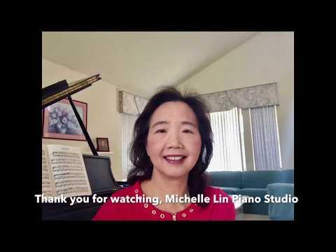 "Free Piano Lesson (31), ""Italian Song"", by Tchaikovsky, Michelle Lin Piano Studio Presents"