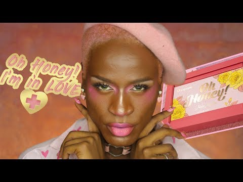 ♡Trying the Oh Honey! Trixie Mattel x Sugarpill Collab!♡ thumbnail