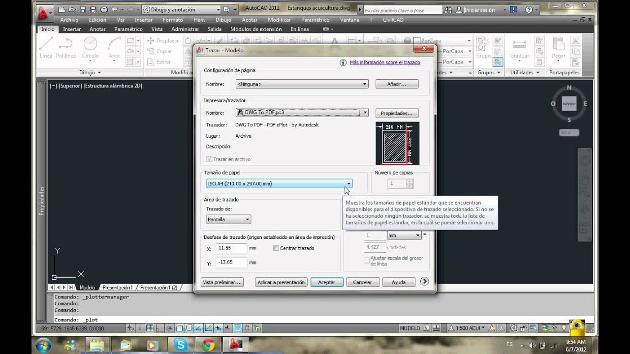 Guarda planos de autocad en pdf youtube for Pdf a cad