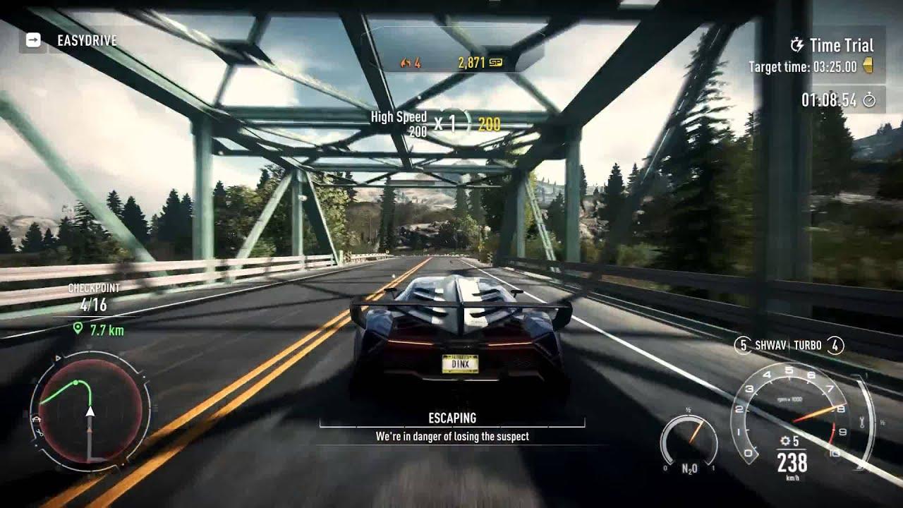 Need for Speed Rivals No Turning Back [HARD] Gold - Lamborghini ... for Lamborghini Veneno Gold  104xkb