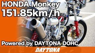 モンキーDOHC最高速チャレンジ