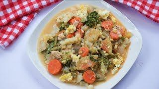 চাইনিজ ভেজিটেবল | Bangladeshi Chinese Restaurant Style Mixed Vegetable | bangla chinese vegetable