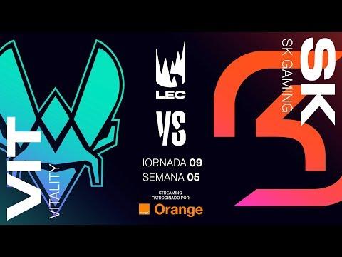 VITALITY VS SK GAMING | LEC | Spring Split [2019] League of Legends thumbnail