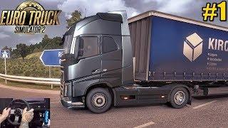 ETS2 Vida De Caminhoneiro #1 - Nossa Primeira Viagem - Euro Truck Simulator 2 Volante G27