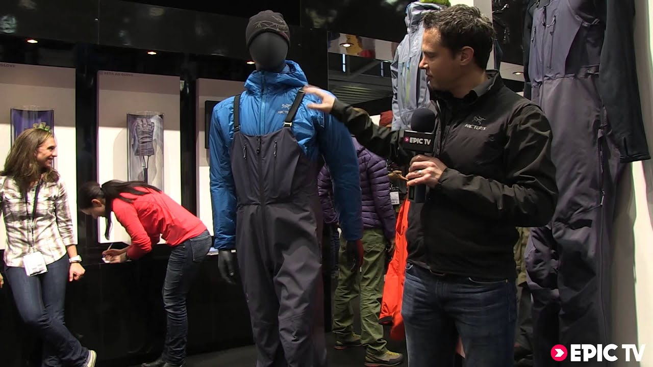 snow gear preview arc 39 teryx 2014 alpha sv bibs at ispo. Black Bedroom Furniture Sets. Home Design Ideas