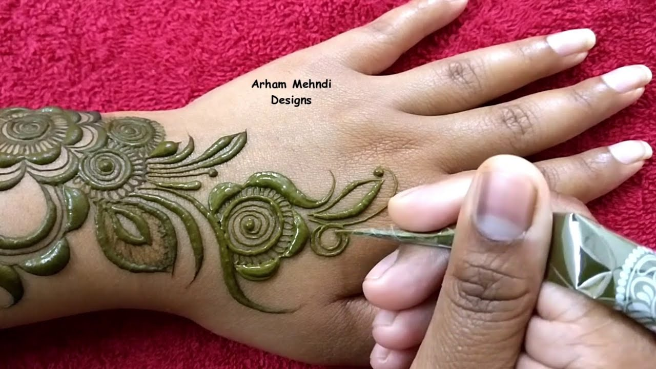 25 Beautiful Eid Mehndi Designs 2019 Images Videos