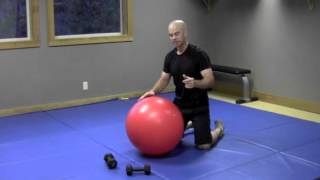 Golf Fitness Video: Upper back and Core stability for a better Golf Swing