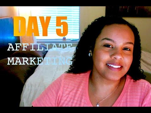 DAY 5 HOW TO START AFFILIATE MARKETING BEST WAY TO START AFFILIATE MARKETING - 동영상