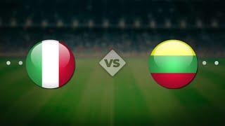 Италия Литва Чемпионат мира 2022 по футболу онлайн