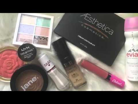 Starter Makeup Artist Kit Must Haves! Favs and Recommendations! Aesthetica, NYX, Milani, Caked, JANE