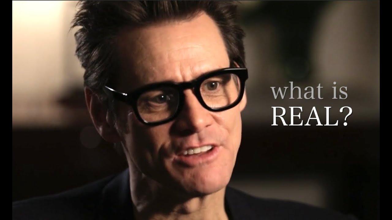 what really exists jim carrey youtube
