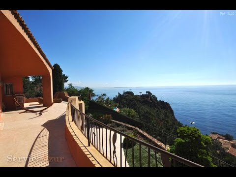 Luxury house for rent in Theoule Cote d'Azur