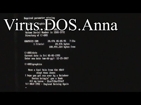 Virus.DOS.Anna (Merry Christmas!)