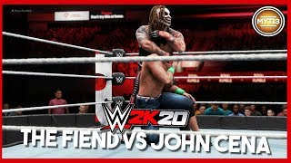 WWE 2K20 - Official Gameplay - The Fiend Vs John Cena