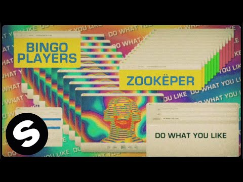 Смотреть клип Bingo Players & Zookëper - Do What You Like