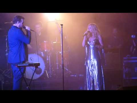 John Grant joined by Kylie for encore Glacier - Royal Albert Hall, London, 15/6/16