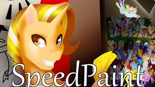 MLP Speedpaint - Welcome to the Circus P.1
