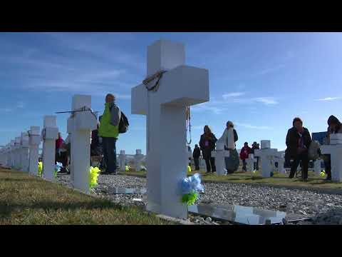Familiares de soldados jujeños fallecidos en Malvinas: Visitar las islas fue una gran emoción