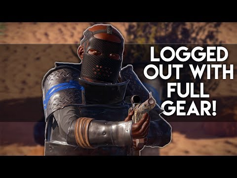 LOGGED OUT WITH FULL GEAR! - Rust