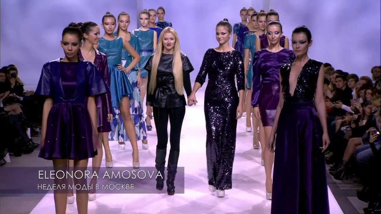 ELEONORA AMOSOVA (весна-лето 2014)   Показ коллекции CRYSTALS - YouTube f575f0fbbdb