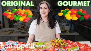 Pastry Chef Attempts To Make Gourmet Skittles | Gourmet Makes | Bon Appétit thumbnail