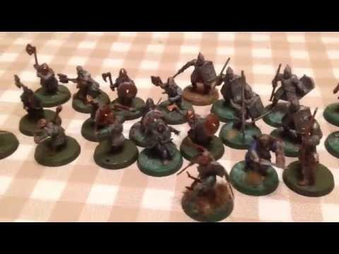 J@Ogaming:battle report: orcs vs dwarves and men part 1