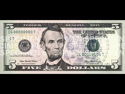 Abe Lincoln Needs to be Removed from U.S. Currency