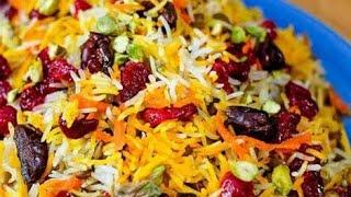 Garlic saffron rice  kesari rice  mayyas kitchen