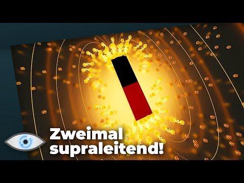 Spukhafte Uran-Verbindung entdeckt: Zweimal supraleitend!