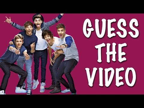 SCREENSHOT ★ Guess the One Direction videos from the screenshots