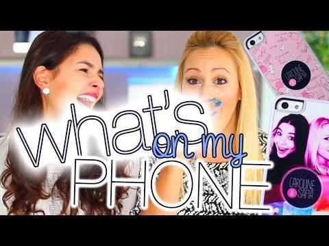 What's on my phone - Découvrez nos téléphones