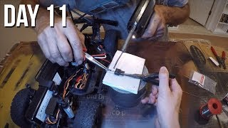 Axial SCX10 II Kit Build - Soldering Electronics! Day 11