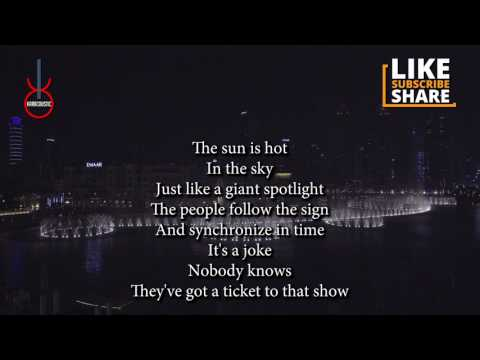 The Show (acoustic karaoke) - Lenka