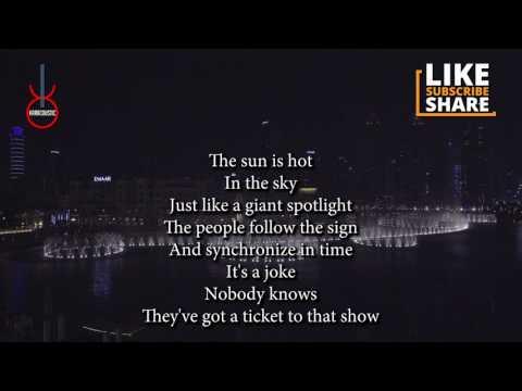 The Show (acoustic karaoke) - Lenka