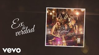 Video HA-ASH - Ex de Verdad (Cover Audio) download MP3, 3GP, MP4, WEBM, AVI, FLV Agustus 2017