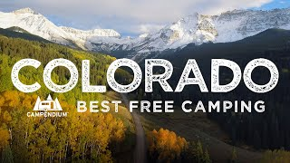 Best Places to Cąmp for Free in Colorado