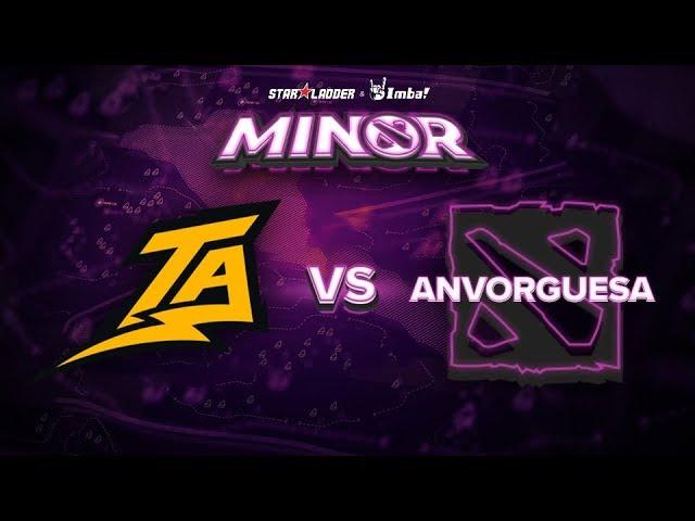 Thunder Predator vs Anvorguesa Game 1 - SL ImbaTV Minor SA Qualifier: Losers' Finals