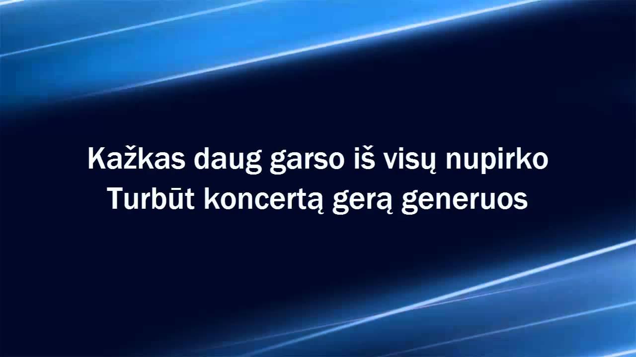 Tautinis Brandas – Prasiblaškom (lyrics) HD
