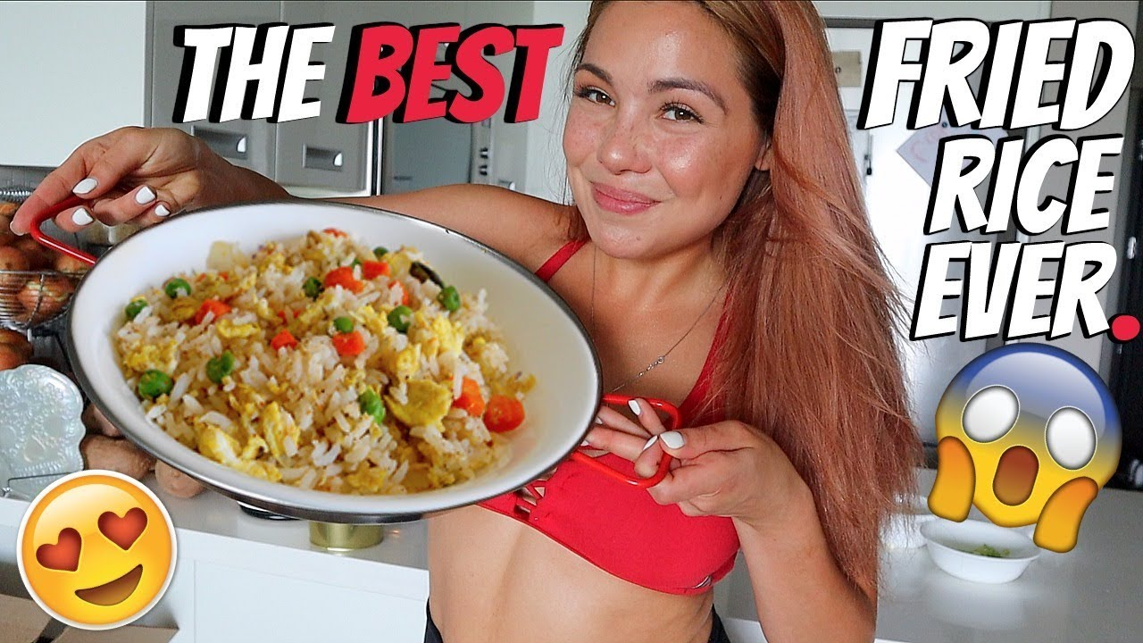 simple-chinese-fried-rice-recipe-먹방-mukbang-cooking-show