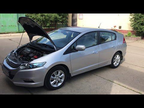 Замена масла коробки CVT на Honda Insight