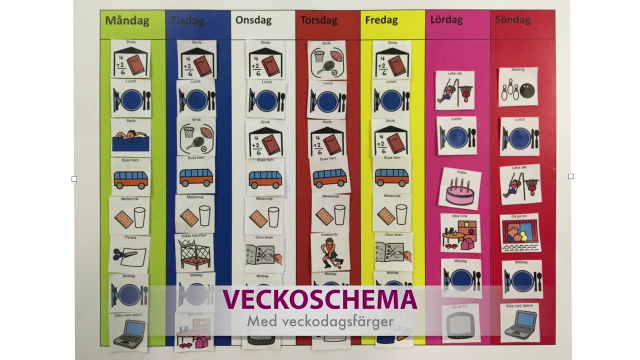 Specialpedagogik I Förskolan Schema
