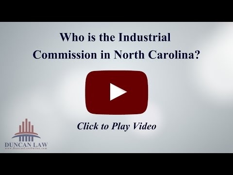 Who is the Industrial Commission in North Carolina?