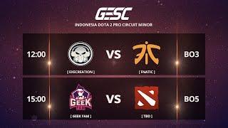 FNATIC [MY] vs GEEK FAM [MY] [BO5] @GESC Championship Jakarta Minor , SEA Qualifier - Final