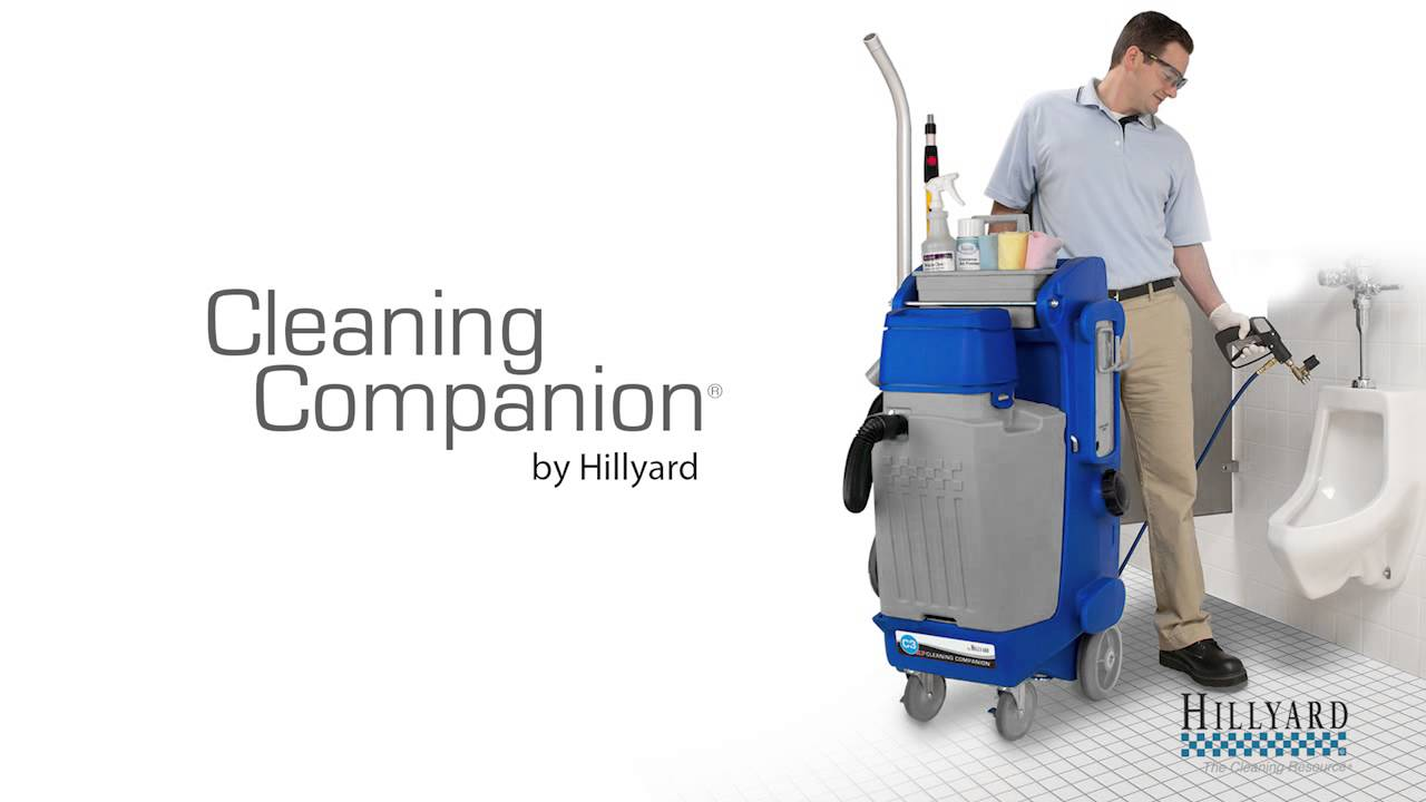 Hillyard C3 Cleaning Companions Youtube