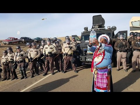 Militarized Cops, Private Security Clash With Native American Pipeline Protesters