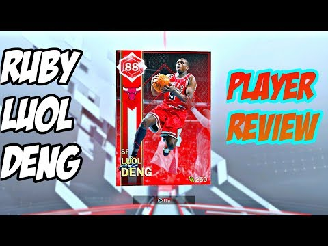 NBA 2k18 RUBY LUOL DENG PLAYER REVIEW!! BEST TWO WAY SF??
